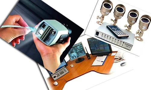 Составляющие элементы системы видеонаблюдения