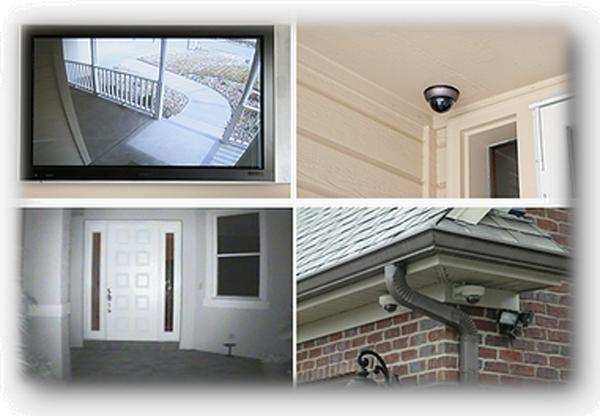 Системы видеонаблюдения для квартир и загородных домов