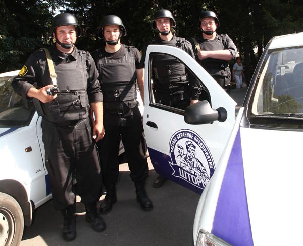 Надежная охрана в Орле