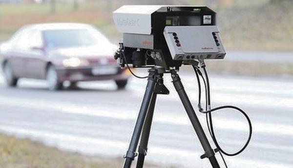 Переносные камеры на дорогах