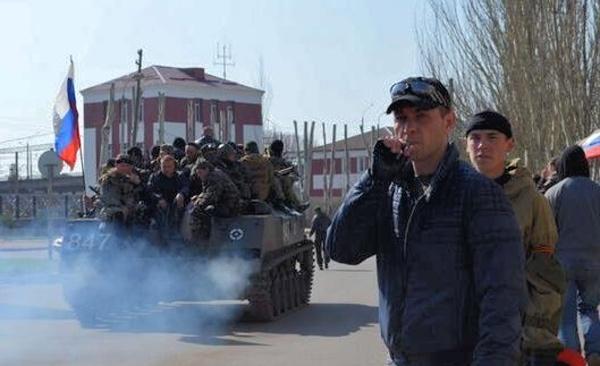 Переход военных на сторону активистов