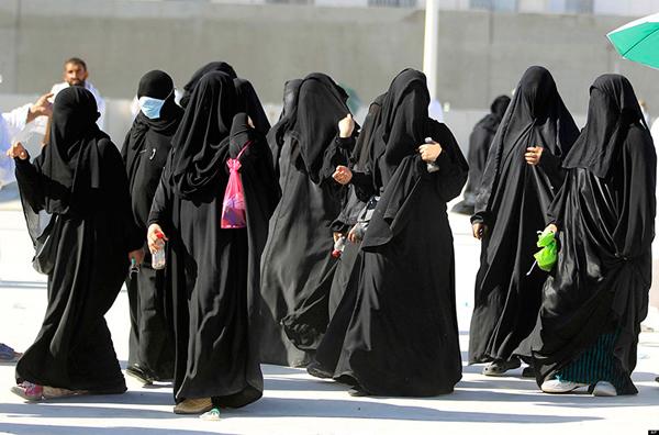 Женская охрана в Саудовской Аравии
