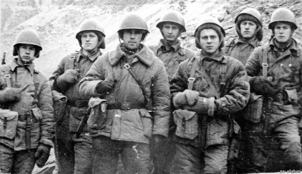 35 лет со дня ввода советских войск в Афганистан