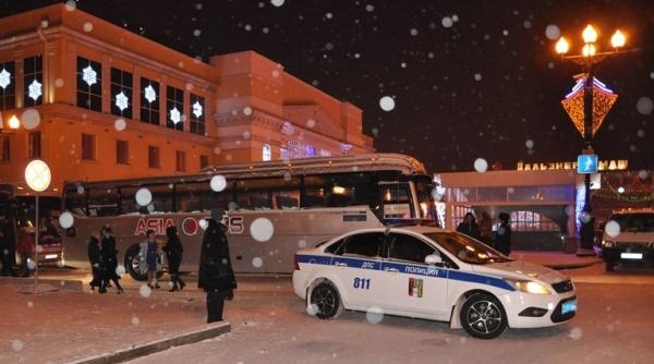Обеспечения правопорядка в дни новогодних праздников