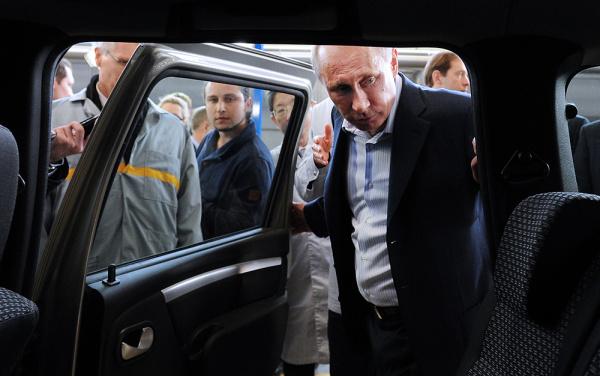 Новый сверхсовременный лимузин для президента