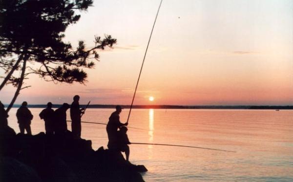 Летняя рыбалка в Псковской области