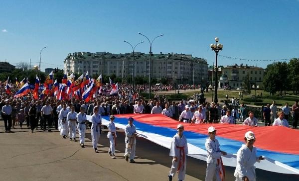 День России в Орле