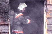 Пожар в поселке Ганино Кировской области