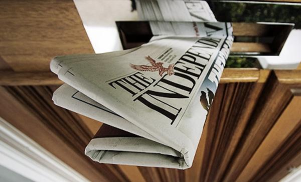 Лондонская газета Independent