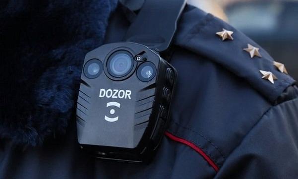Камеры видеонаблюдения полиции