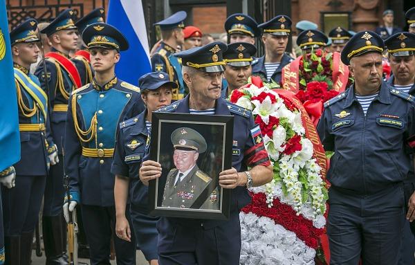 Похороны Александра Маргелова