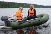 Безопасное плавание на лодке