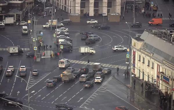 Видеонаблюдение на улицах