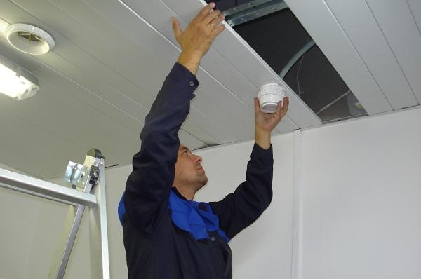 Обслуживание и ремонт охранной сигнализации