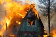 Пожар на даче