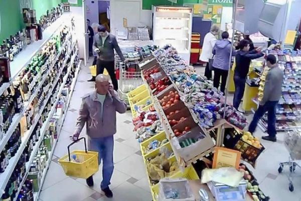 Камеры в магазине