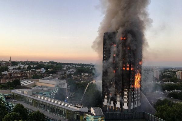 Пожар в Grenfell Tower