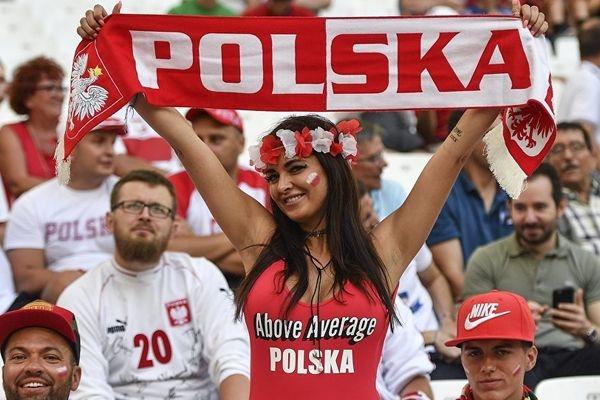 Болельщики из Польши