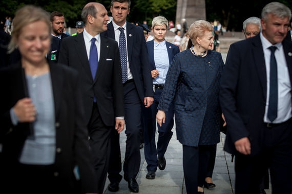 Охрана президента Литвы