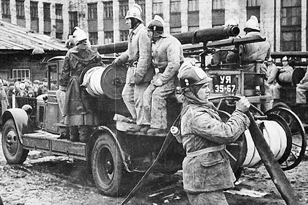 История пожарной охраны России